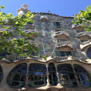 Spagna, Barcellona, casa Batllò
