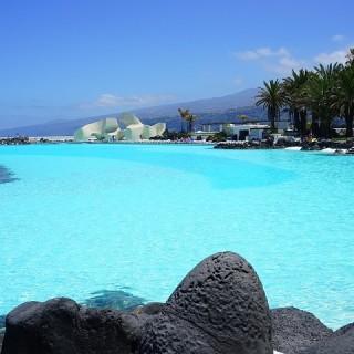 Tenerife, lago Martiànez