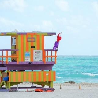 Miami, spiaggia