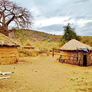 Tanzania, villaggio masai