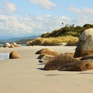 Tasmania, spiaggia