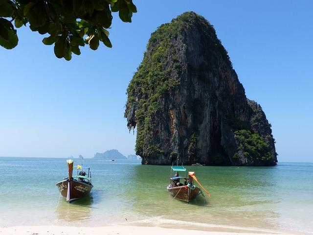 Thailandia, imbarcazioni