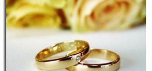 Viaggio di nozze, fedi