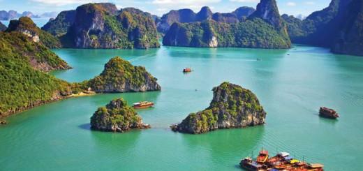 Vietnam, baia Halong